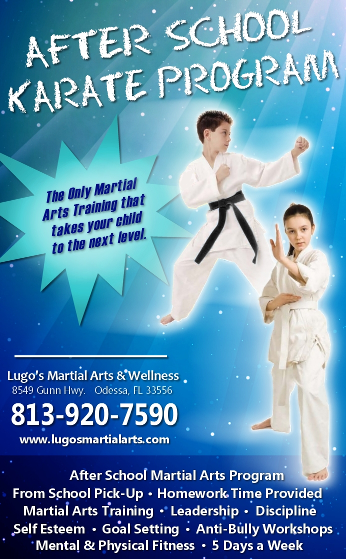 After School Karate Program in Odessa and Northwest Tampa